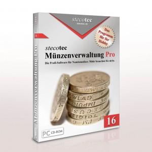 Stecotec Münzenverwaltung Pro 16