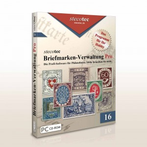 Briefmarken-Software CD-Version