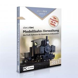 Stecotec Modellbahn-Verwaltung 2017 – CD Version