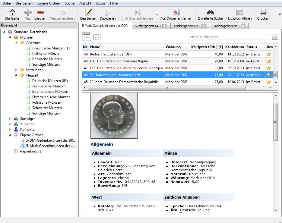 Stecotec Münzen Verwaltung Pro 16 Die Münzsoftware