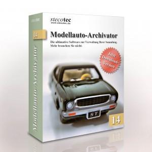 Verpackung Modellauto-Archivator 14