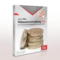 Stecotec Münzenverwaltung Pro 14: Die Software für Münzsammler
