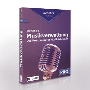 Stecotec Musikverwaltung Pro: CD-Version