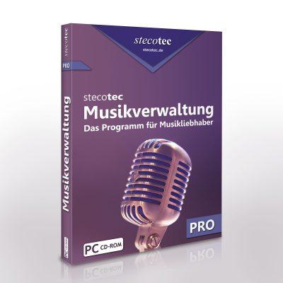 Stecotec Musikverwaltung Pro: Die Software für Ihre Musiksammlung